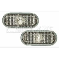 CLEAR SIDE REPEATER LAMPS FITS LH & RH (PAIR)