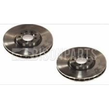 FRONT AXLE VENTED BRAKE DISC FITS RH & LH (PAIR)
