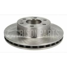 FRONT AXLE VENTED BRAKE DISC FITS RH OR LH
