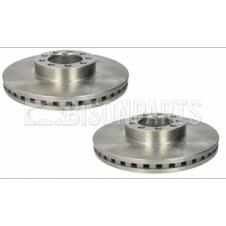 REAR AXLE VENTED BRAKE DISC FITS RH & LH (PAIR)