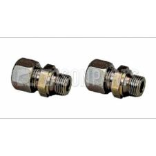 M16 STUD COUPLING TO 10MM TUBE (PKT 2)