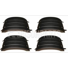 SET OF 4 WING TOP MUDGUARDS (REN076 X4)
