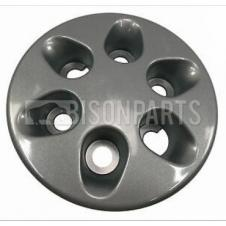 6 HOLE BLACK WHEEL HUB TRIM COVER FITS RH OR LH