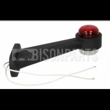 UNIVERSAL OUTLINE MARKER LAMP (RED / WHITE)