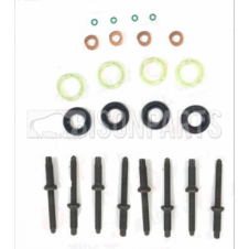 FUEL INJECTOR STUDS, SEAL, WASHER & O RING SET