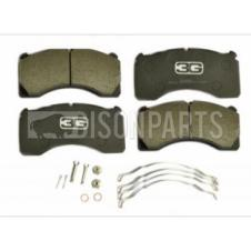 TRAILER BRAKE PAD SET & FITTING KIT