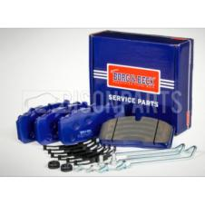 BRAKE PAD SET & FITTING KIT FITS FRONT OR REAR AXLE