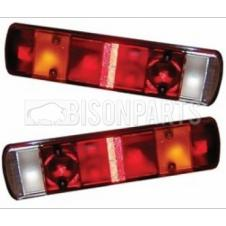 REAR COMBINATION LAMP LENS ONLY FITS RH & LH (PAIR)