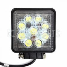 SQUARE LED FLOOD BEAM WORKLAMP 9-60V / 27W