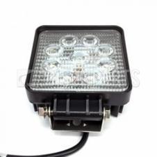 SQUARE LED FLOOD BEAM WORKLAMP 9-60V / 27W