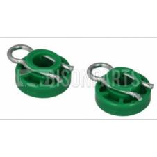 ROUND WINDOW REGULATOR SLIDER CLIP (PAIR)