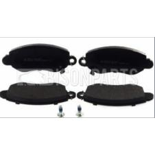 FRONT AXLE BRAKE PAD SET