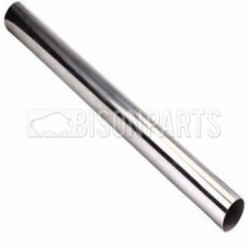 EXHAUST ALUMINISED STEEL STRAIGHT PIPE OD 3.5