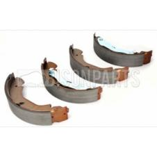 FRONT AXLE BRAKE SHOE SET