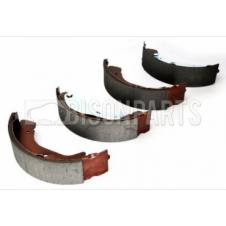 REAR AXLE BRAKE SHOE SET
