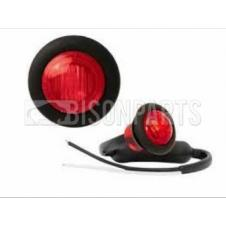 RED LED REAR MARKER LAMP FITS RH OR LH 12/24V