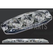 CLEAR LED SUPERSLIM MARKER LAMP 12/24V