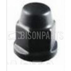 BLACK WHEEL NUT COVER