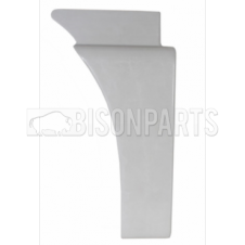 MAN TGA, TGS & TGX CABIN WING REAR TRIM LH (PRIMED WHITE)