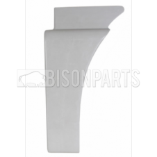 MAN TGA, TGS & TGX CABIN WING REAR TRIM RH (PRIMED WHITE)