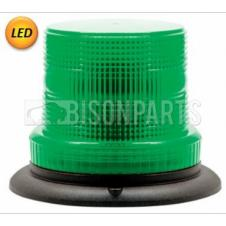 LED GREEN COMPACT WARNING BEACON 12-48V