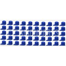 33MM DUSTITE WHEEL NUT COVERS BLUE (PKT 50)