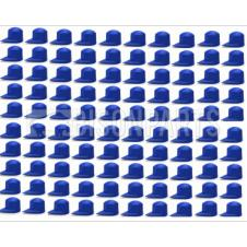 33MM DUSTITE WHEEL NUT COVERS BLUE (PKT 100)