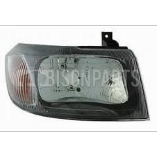 SMOKED HEADLAMP ASSEMBLY RH DRIVERS SIDE (MANUAL ADJUST WITHOUT MOTOR)