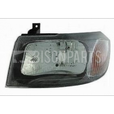 SMOKED HEADLAMP ASSEMBLY LH PASSENGER SIDE (MANUAL ADJUST WITHOUT MOTOR)
