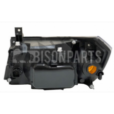 SMOKED HEADLAMP ASSEMBLY RH DRIVERS SIDE (ELECTRICAL ADJUST WITH MOTOR)