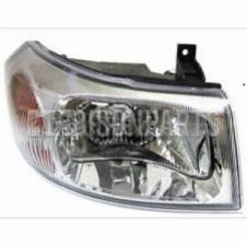 CHROME HEADLAMP ASSEMBLY RH DRIVERS SIDE