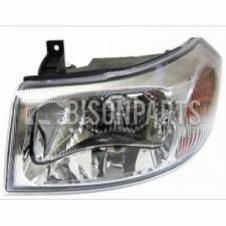 CHROME HEADLAMP ASSEMBLY LH PASSENGER SIDE