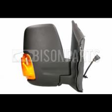 TWIN GLASS MIRROR HEAD AMBER INDICATOR DRIVER SIDE RH