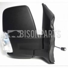 TWIN GLASS MIRROR HEAD & CLEAR INDICATOR DRIVER SIDE RH