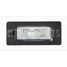 REAR NUMBER PLATE LAMP & BULB