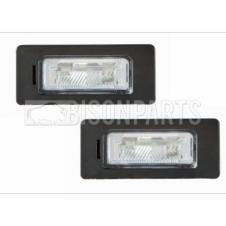 REAR NUMBER PLATE LAMP & BULB (PKT 2)