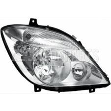 HEADLAMP & FOG LAMP ASSEMBLY DRIVER SIDE RH