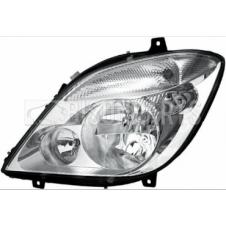 HEADLAMP & FOG LAMP ASSEMBLY PASSENGER SIDE LH