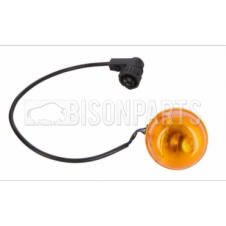 INDICATOR LAMP RH/LH (ROUND) WITH BULBHOLDER AND WIRE