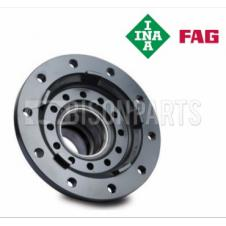 FRONT WHEEL HUB & BEARINGS