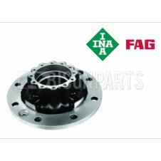 REAR WHEEL HUB & BEARINGS