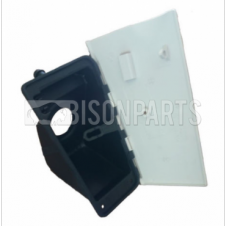 FUEL FILLER NECK HOUSING C/W RUBBER SEALS & WHITE FLAP