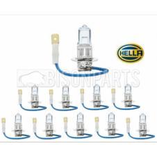 H3 HALOGEN HEADLAMP BULB 12 VOLT (PKT 10)