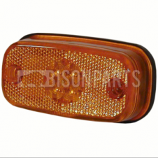 SIDE AMBER LED MARKER LAMP 24 VOLT