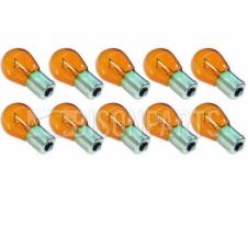 SINGLE CONTACT AMBER TAIL LAMP BULB 12 VOLT