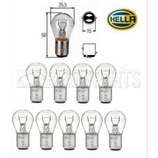 DOUBLE CONTACT TAIL LAMP BULB 12 VOLT