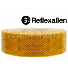 YELLOW CONSPICUITY REFLECTIVE TAPE 50 METRES