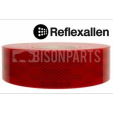 RED CONSPICUITY REFLECTIVE TAPE 50 METRES