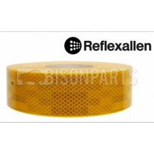 YELLOW CONSPICUITY REFLECTIVE TAPE 12.5 METRES