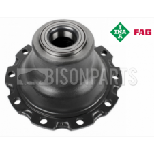 FRONT AXLE WHEEL HUB & BEARINGS